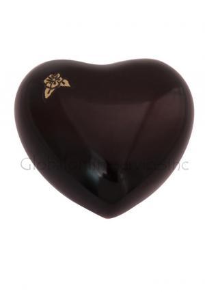 Mini Heart Keepsake Flower Urn for Cremation Ashes