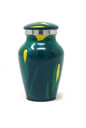 Aluminium Stardust Keepsake Urn for Cremation Ashes. (Small)