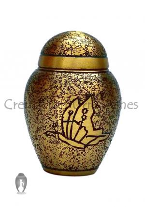 Antique Butterfly Keepsake Urn for Ashes