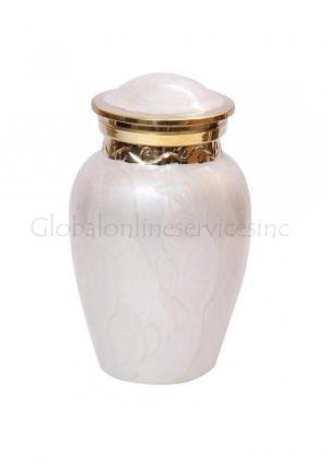 Beautiful Cremation Urns UK, Blessing Pearl Memorial Keepsake Urn for Human Ashes