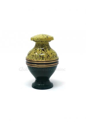 Beautiful Green Band Keepsake Cremation Urn for Human Ashes Brand