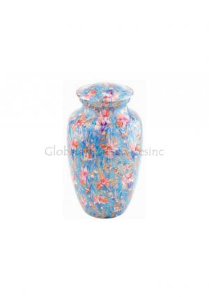 Beautiful Small Keepsake Flower Cremation Urn