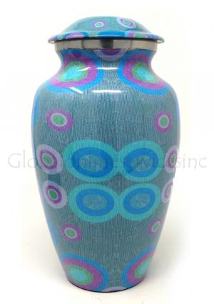 Beautifull Aluminum Large Cremation Urn for Funeral Human Ashes