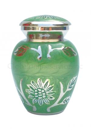 Brampton Green Sunflower Keepsake Urn for Ashes