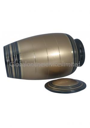 Adult brass urns