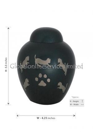 pet brass urns
