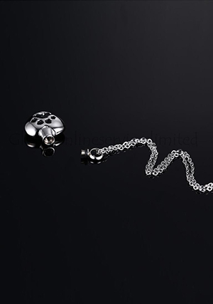 cat urn necklace