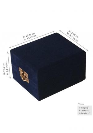 Velvet box for keepsake