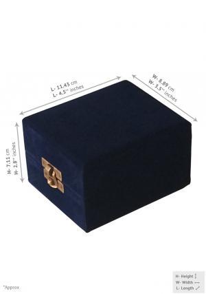 Velvet box for keepsake
