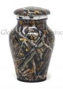 Classic Aluminium Keepsake Cremation Urn (Small)