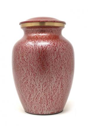 Classy Medium Brass Urn for Cremation  Ashes (Medium)