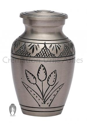 Country Pride Small Keepsake Brass Urn for Ashes, Mini UK