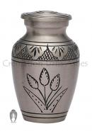Country Pride Floral Mini Keepsake Cremation Urn for Human Ashes