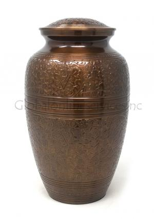 Creeping Leaves Adult Urn for Human Ashes (Large)