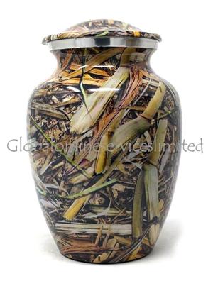 Lost Camo Aluminium Medium Urn for Cremation Ashes