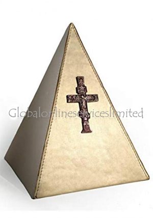 Cross Christ Urn For Human Ashes, Beautiful Iron Cremation Urns Ashes