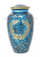 Custom Made Brass Adult Ashes Urn, Memorial Cremation Urn