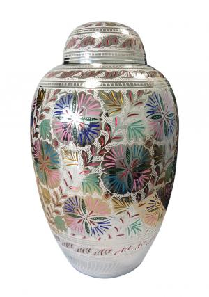Dome Top Farnham Colorful Adult Funeral Large Urn for Human Ashes