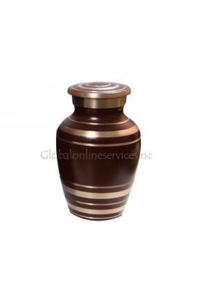 Elite Garnet Red Keepsake Cremation Urn for Ashes