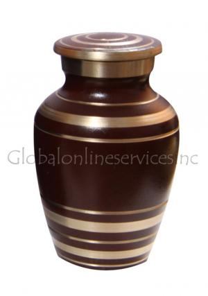 Elite Garnet Red Keepsake Cremation Urn for Ashes