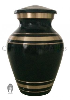Elite Onyx Small Keepsake Memorial Brass Container For Ashes UK