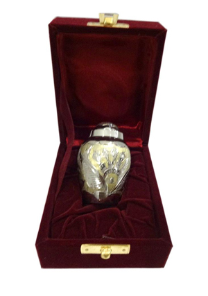 Peace Making Gold Devon Keepsake Urn for Human Cremation Ashes