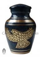 Golden Eagle Keepsake Cremation Urn for Memories