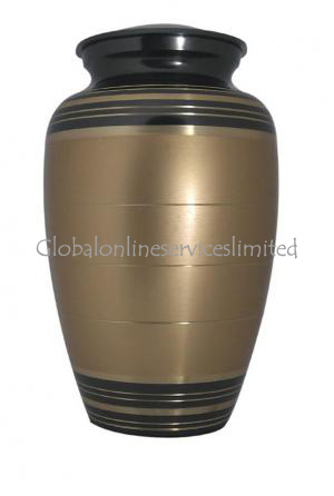 Golden Palace Large Adult Memorial Urn for Ashes