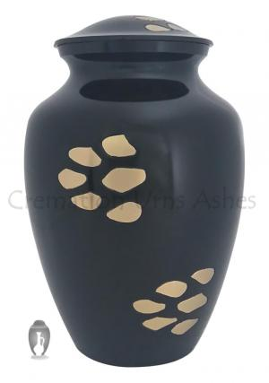 Golden Paw Prints Bedford Pet Urn For Ashes