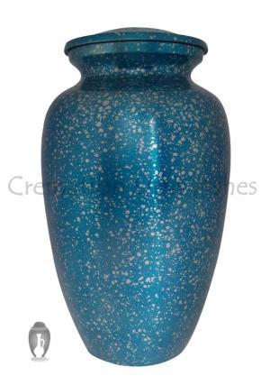 Hand Cast Aluminium Big Adult Cremation Urn For Ashes