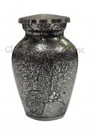 Harlow Black Flying Bird Cremation Keepsake Urn for Funeral Ashes, Small Brass