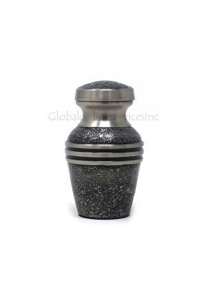 Harlow Black Keepsake Memorial Mini Urn