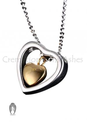 Heart Cremation Urns Jewellery, Pendant Necklace