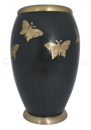 Large Fluttering Monarch Butterflies Adult Urn Ashes