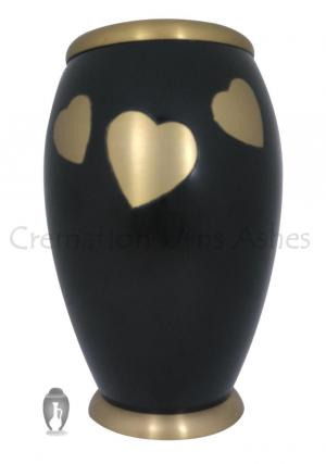 Large Fluttering Monarch Hearts Adult Urn For Human Ashes