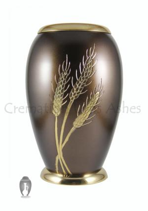 Large Monarch Wheat Adult Funeral Urn for Human Ashes