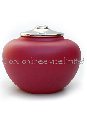 Large Pink adult funeral human ashes urn, Cremation urns ashes
