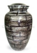 Large Vintage Adult Cremation Brass Urn for Human Ashes