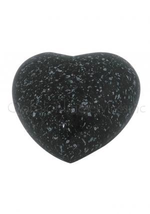 Marble Heart Keepsake Aluminium Urn for Cremated Ashes
