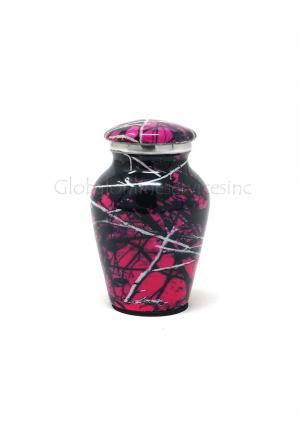 Moonshine Camo Aluniminum Keepsake Cremation Urn