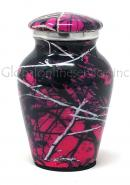 Moonshine Camo Aluniminum Keepsake Cremation Urn (Small)