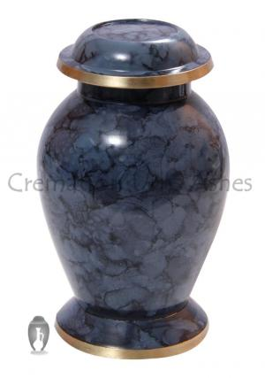 Mulberry Small Memorial Keepsake Urn for Human Ashes