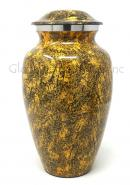 Natural Punga Colour Aluminium Large Cremation Urn for Ashes