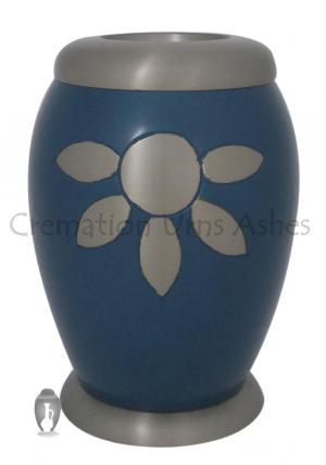 Nirvana Azure Cremation Tealight Urn for Funeral