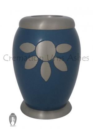 Nirvana Azure Cremation Tealight Urn for Funeral