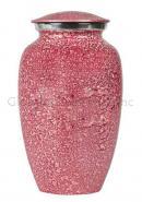 Shimmer Pink Large Cremation Urn for Ashes