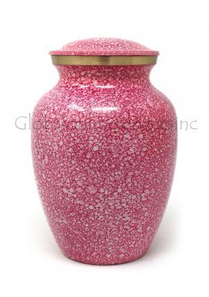 Shimmer Pink Medium Cremation Urn for Ashes (Medium)