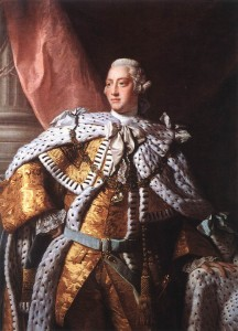 George III King of UK